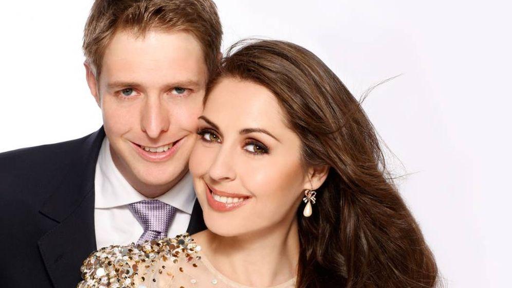 Foto:  El príncipe Leka y su prometida en una imagen de archivo