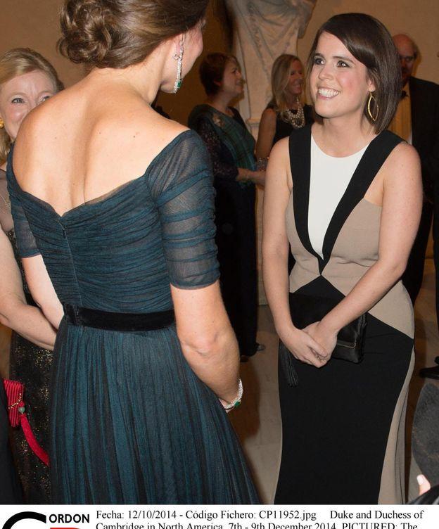 Foto: Kate Middleton y Eugenia de York en una imagen de archivo. (Cordon Press)