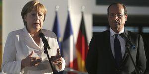 Merkel y Hollande instan a aprobar los acuerdos para recapitalizar la banca española