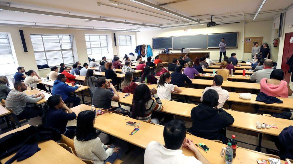 Foto: Aula universitaria (Efe)