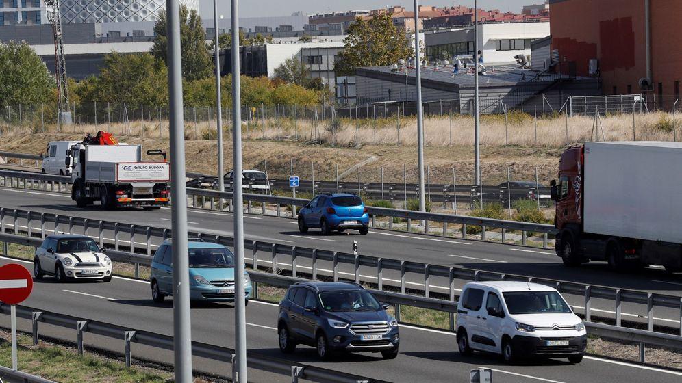 Foto: Tráfico en Madrid tras el estado de alarma. (EFE)