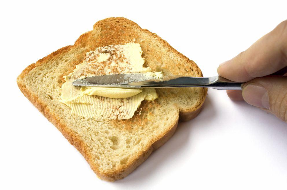 Foto: Pan tostado con mantequilla. No hay mayor placer. (iStock)