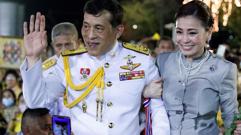 Los reyes de Tailandia, el pasado 1 de noviembre. (EFE)