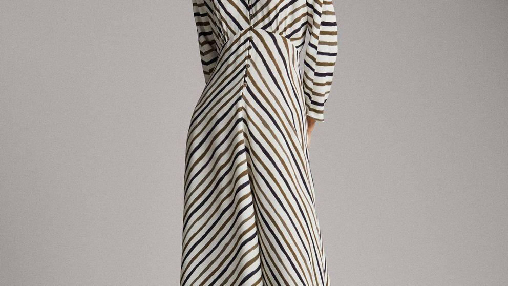 El vestido perfecto de Massimo Dutti para ir al trabajo en el veranillo de San Miguel