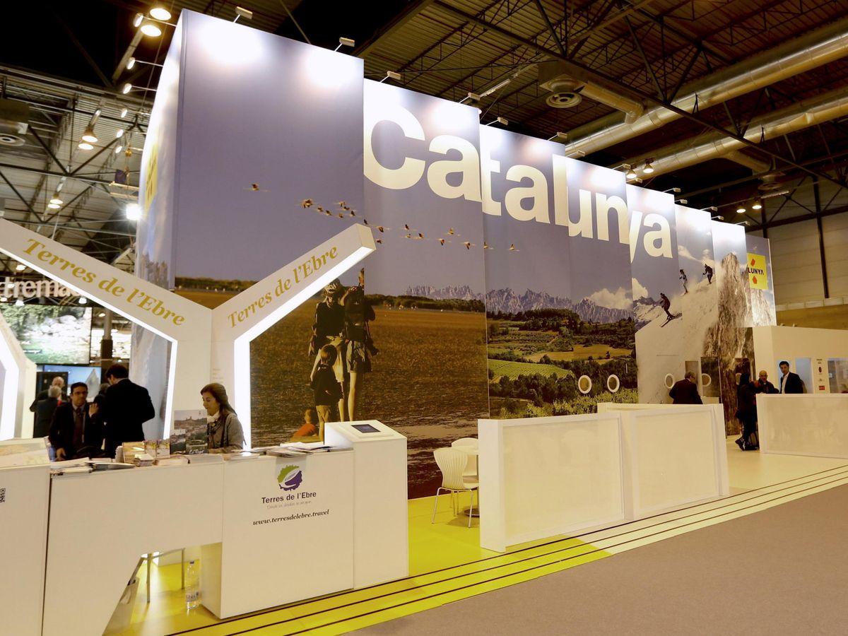 Foto: 'Stand' de Cataluña en la Feria Internacional de Turismo de 2014. (EFE)