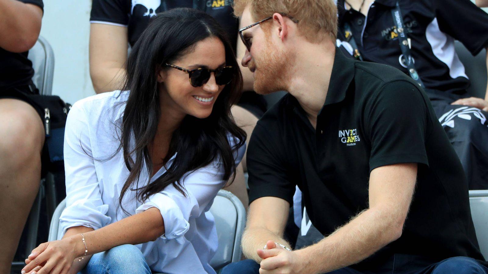 Foto: La pareja, durante los Juegos Invictus. (Gtres)