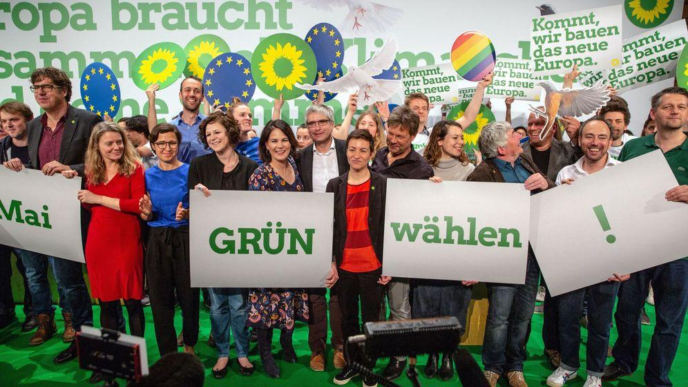 Foto: Campaña de los verdes en Alemania. (Reuters)