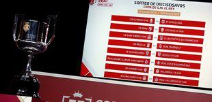 Post de Sorteo de la Copa del Rey: horario y dónde ver 'online' cómo quedan los cuartos de final