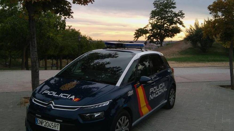 Foto: Detenido por simular su propio secuestro en Granada (Policía Nacional/Twitter)
