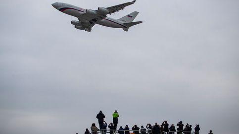 Un avión gubernamental despega de Praga