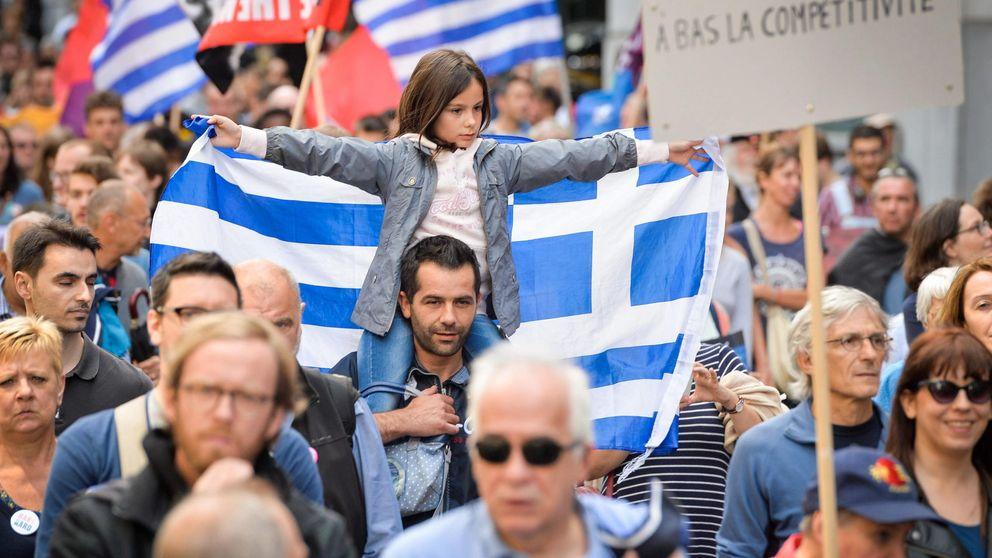 Los inversores creen en la solución griega: el Ibex se dispara y la prima se hunde
