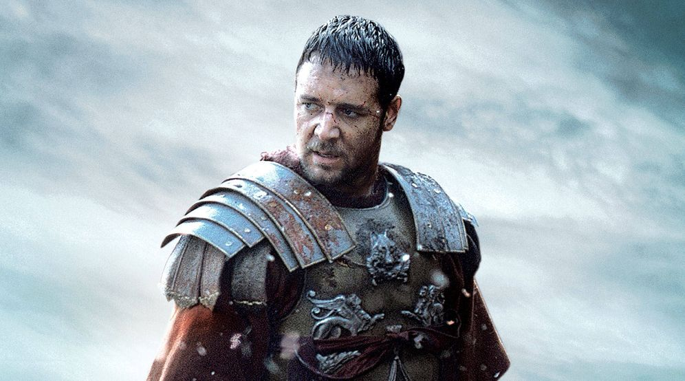 Foto: Fotograma publicitario de 'Gladiator'.