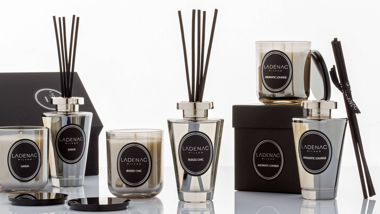 Foto: Los perfumes y velas aromáticas de Ladenac Milano cuentan con una cuidada elaboración propia, establecida desde 1884, a orillas del Mediterráneo.