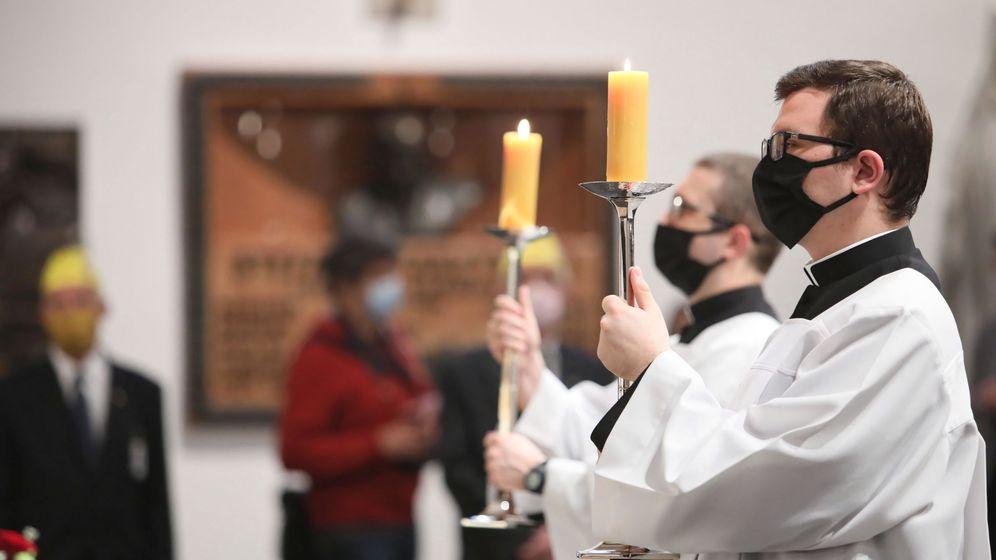Foto: Escenas del Corpus Christi en Varsovia, Polonia. (EFE)