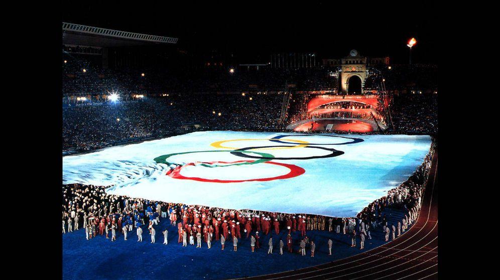 Foto: Inauguración de los Juegos de Barcelona 92