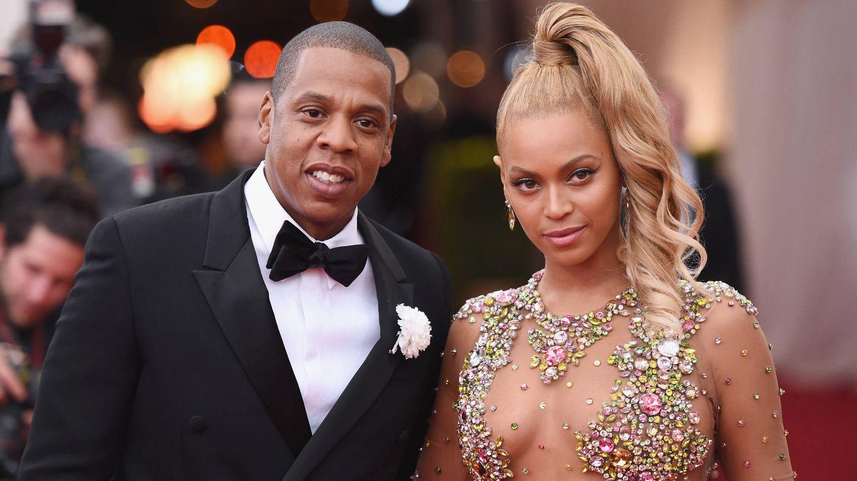 Jay-Z y Beyoncé. (Getty)