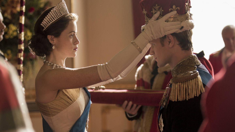 Isabel II (Claire Foy) en una imagen de la segunda temporada de 'The Crown'.