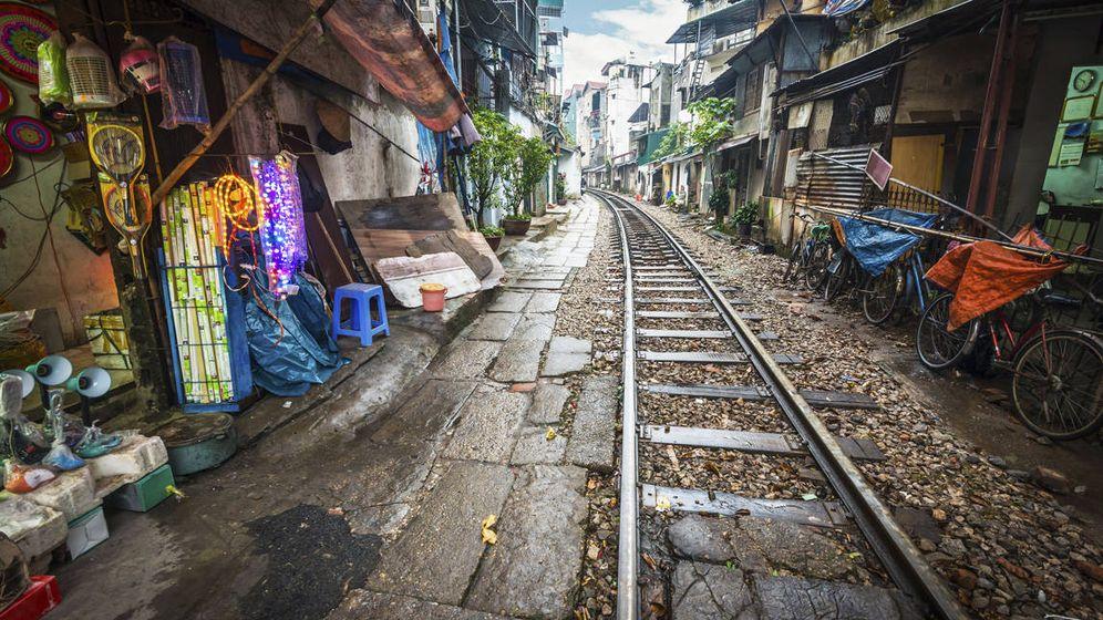 Foto: Una calle de Hanoi, en Vietnam (iStock)