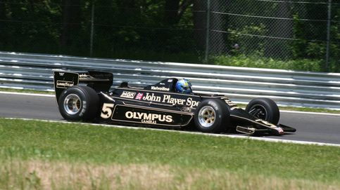 Ey tío, como si estuviera pintado en el asfalto. ¿Los F1 más salvajes de la historia?