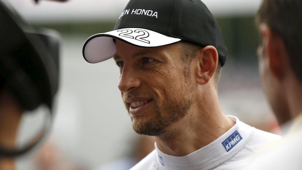 McLaren confirma que Jenson Button seguirá en el equipo británico en 2016