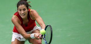 Post de Muguruza hace bueno su favoritismo, pero Pliskova empata en la Fed Cup