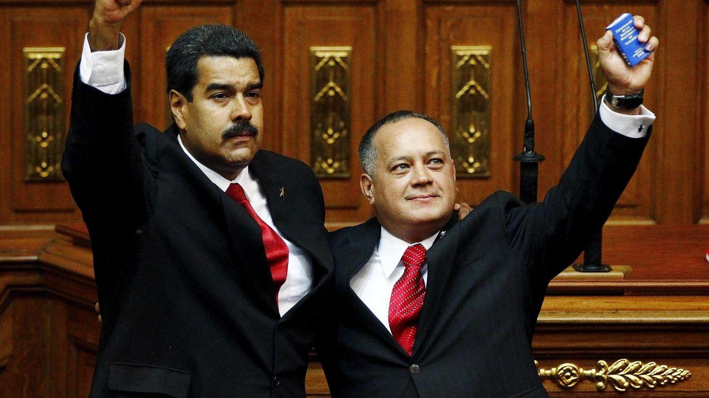 Nicolas Maduro y Diosdado Cabello (Reuters).