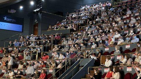 El Teatro Real se ampara en la normativa tras la revuelta: Estaba casi vacío