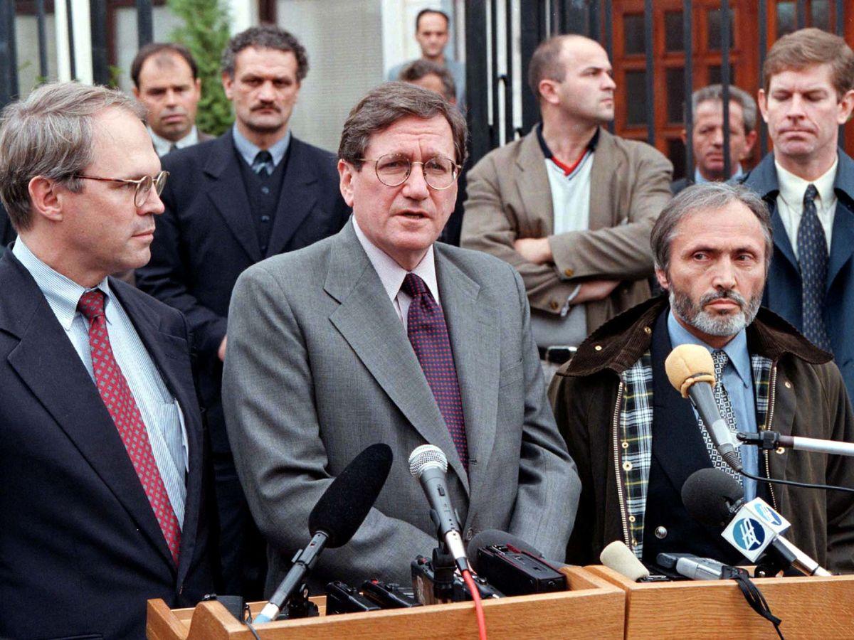 Foto: Richard Holbrooke, pieza clave para los acuerdos de paz en Dayton. (Reuters)