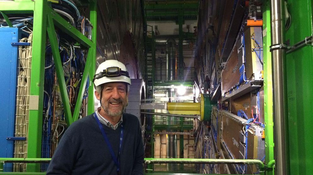 Foto: Alberto Ruiz, investigador de la Universidad de Cantabria.
