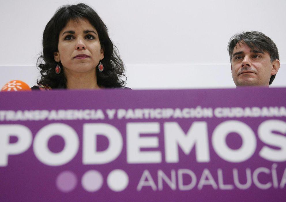 Foto: La candidata de Podemos a la Junta de Andalucía, Teresa Rodríguez. (Efe)