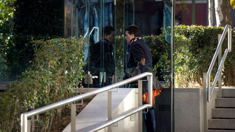 Foto: David Marjaliza, entrando a la Audiencia Nacional el pasado diciembre. (EFE)