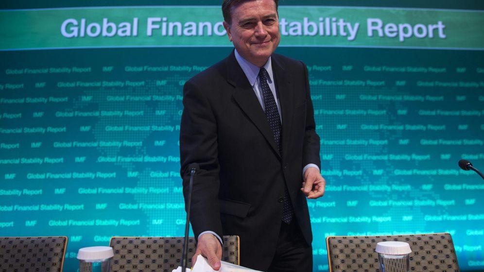 Foto: El director del Departamento de Asuntos Monetarios del Fondo Monetario Internacional (FMI), José Viñals