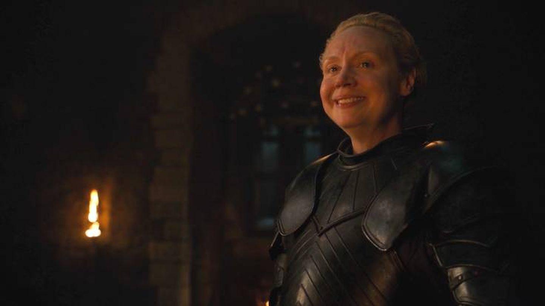 Brienne, nombrada caballero de los Siete Reinos en 'Juego de tronos'. (HBO)