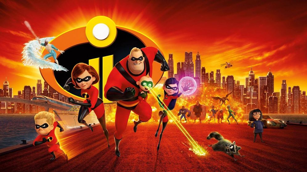 Foto: 'Los increíbles 2' es el mejor estreno de animación de la historia en EEUU (Disney)