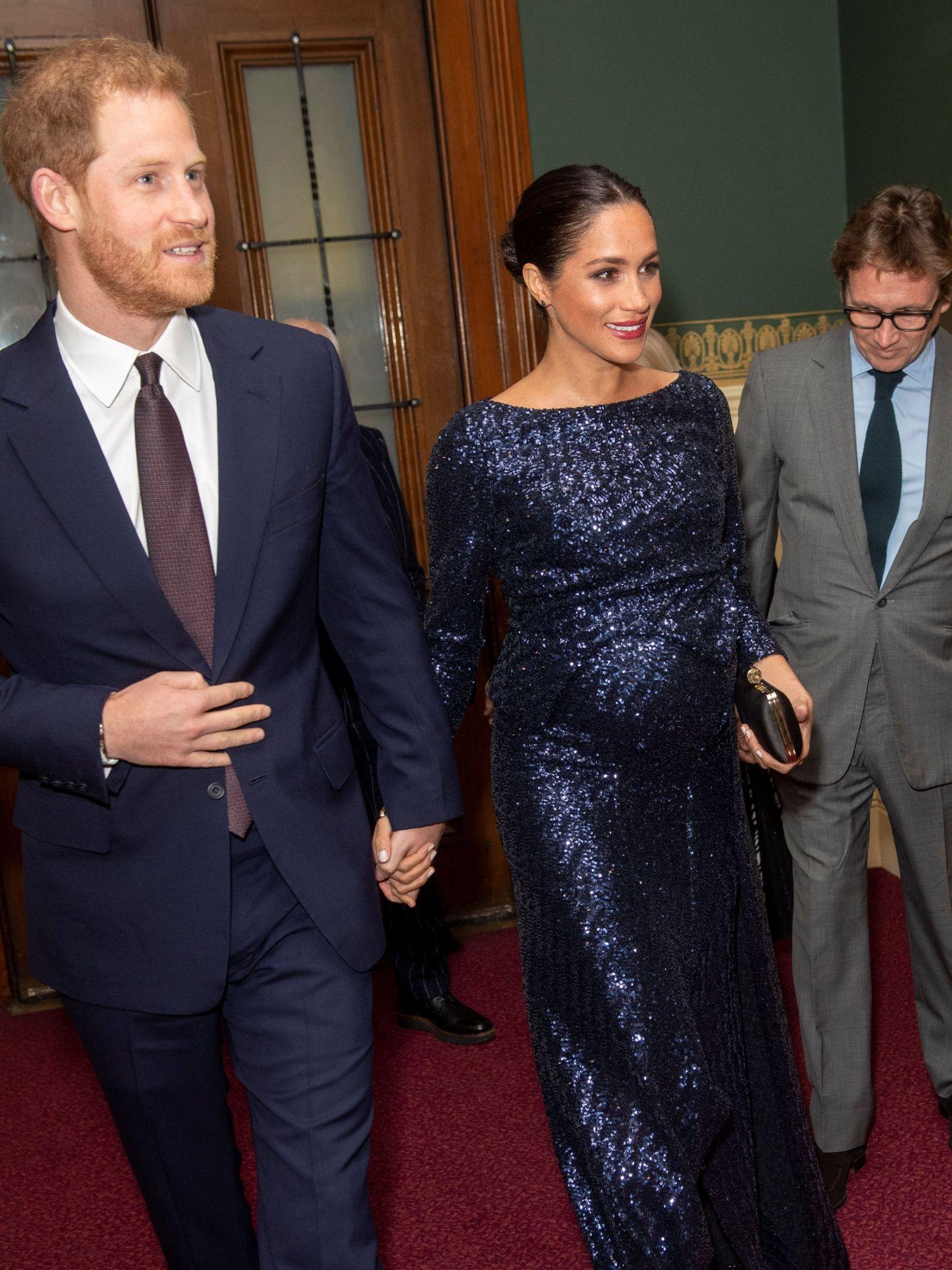 Meghan y Harry, en enero de 2019. (Reuters)