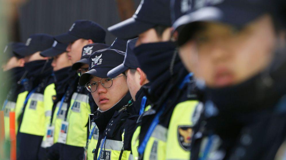 Foto: La policía surcoreana pudo dar con el sospechoso porque se jactó de haber sido millonario (EFE/Barbara Walton)