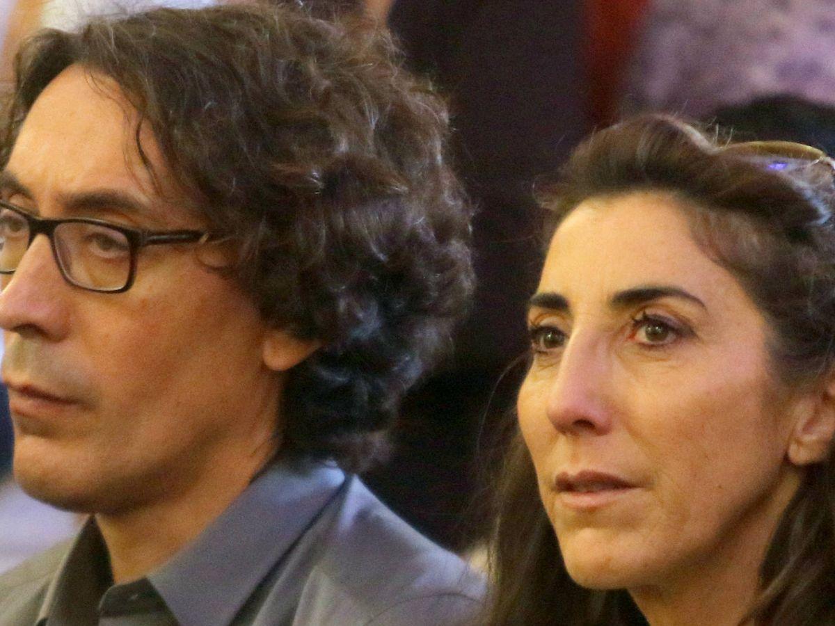 Foto: Paz Padilla y su marido. (CordonPress)