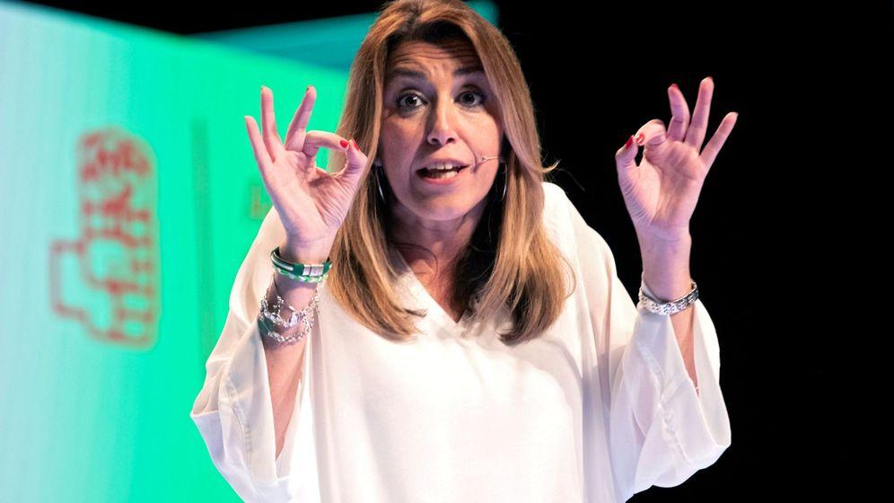 Foto:  La secretaria general del PSOE de Andalucía, expresidenta de la Junta.(EFE)
