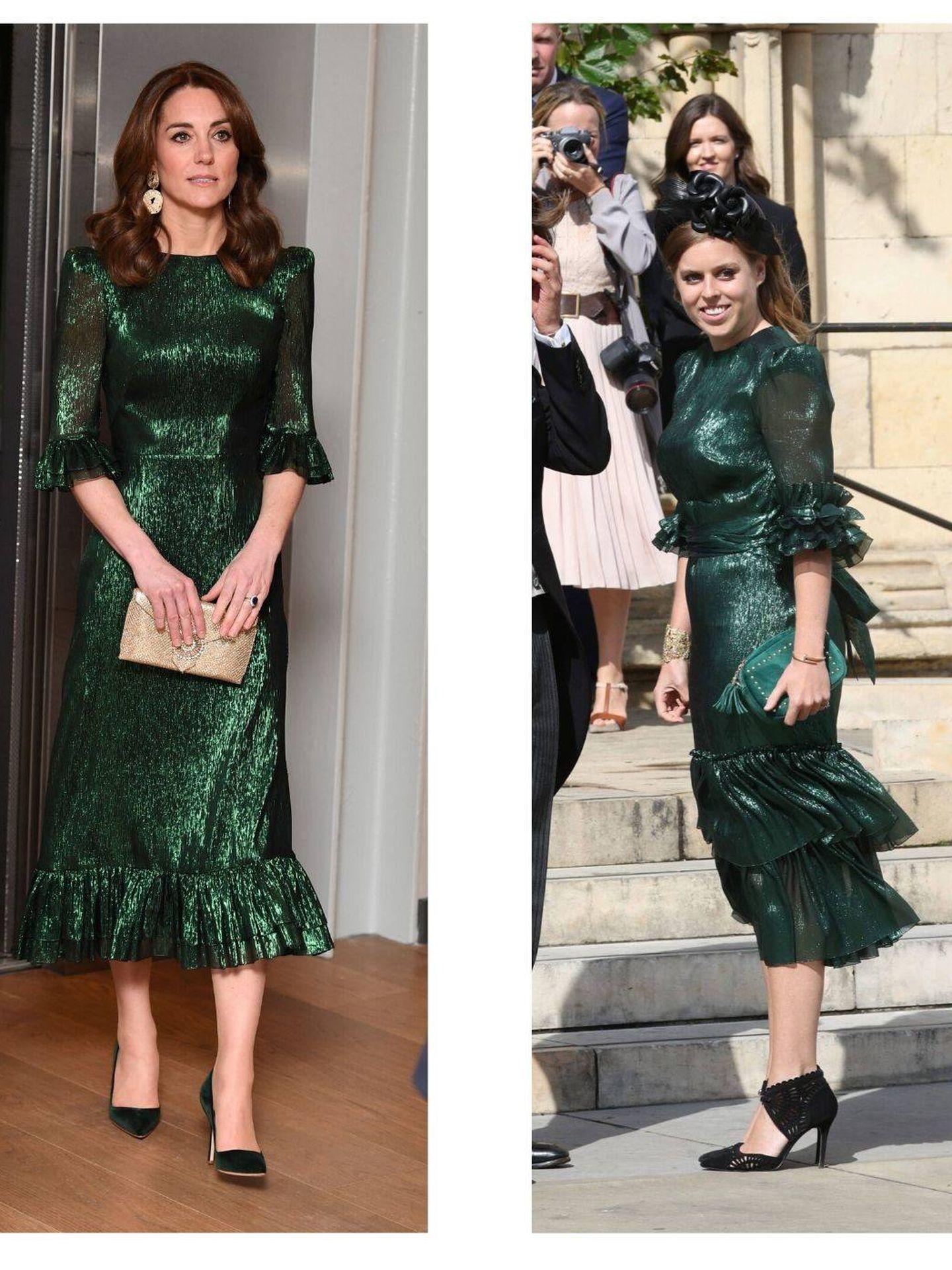 Kate Middleton vs. Beatriz de York. (Cordon Press/Reuters)