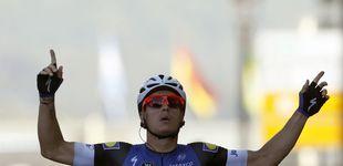 Post de El primer sprint, ganado por Meersman, no provoca cambios entre los mejores