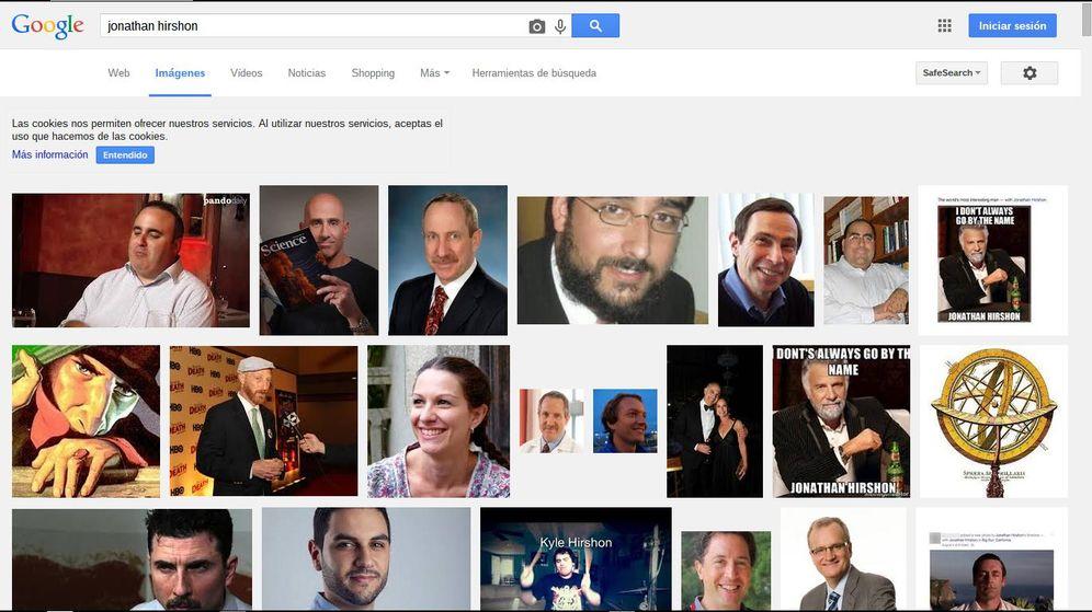 Foto: Resultados en Google Imágenes al buscar 'Jonathan Hirshon'