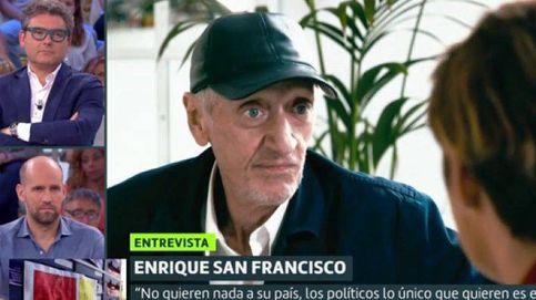 Quique San Francisco noquea al Gobierno por el 8M y su gestión del covid