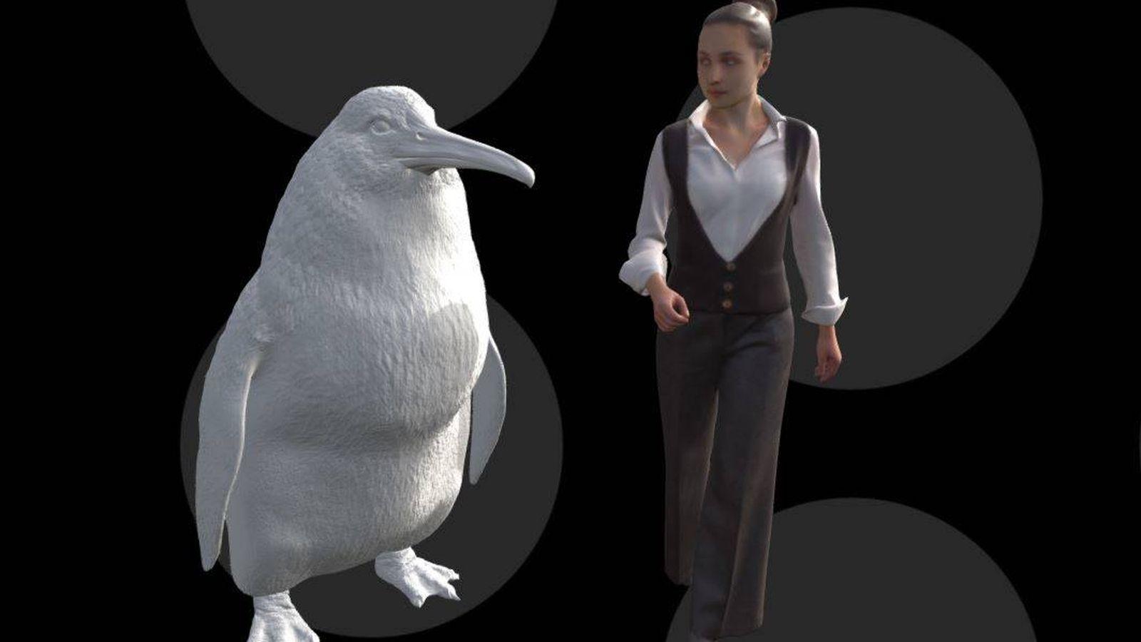 """Foto: Descubren en Nueva Zelanda una nueva especie de """"pingüino gigante"""". (Canterbury Museum)"""