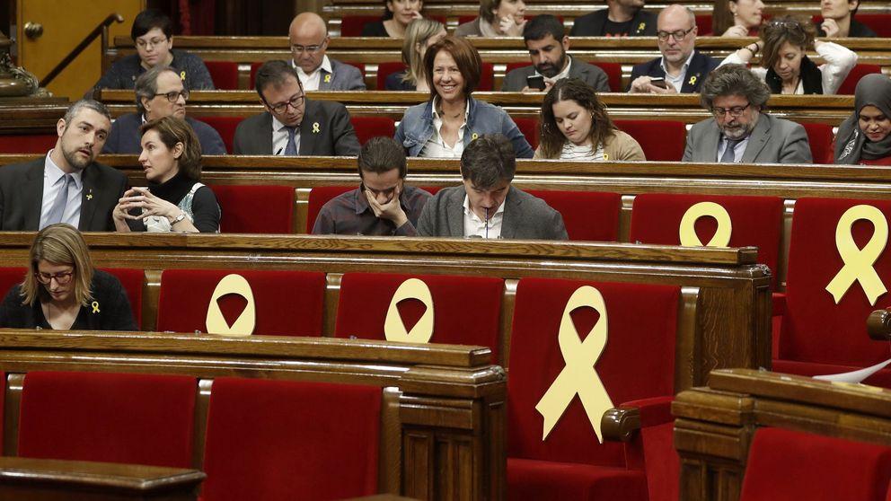 La suspensión inminente de Puigdemont y 6 diputados amenaza la mayoría soberanista