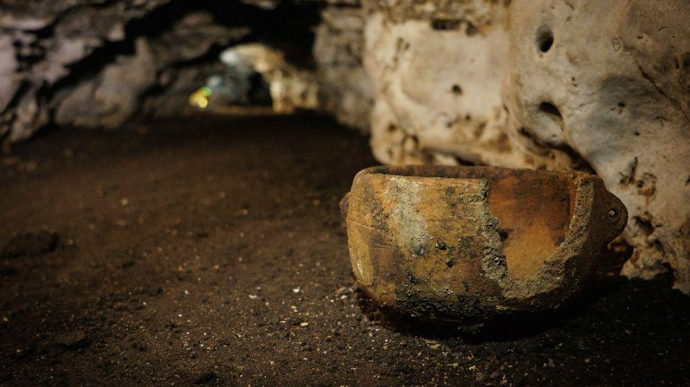 Foto: Uno de los artefactos ceremoniales encontrados en Balamkú. (Reuters)