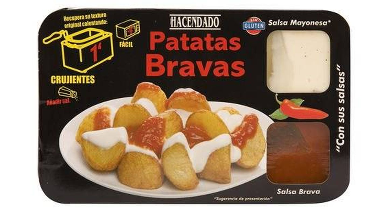 Patatas bravas Hacendado. (Mercadona)