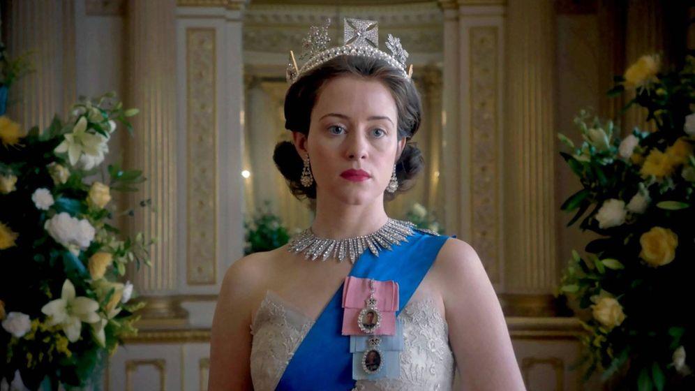Foto: Isabel II (Claire Foy) en una imagen de 'The Crown'.