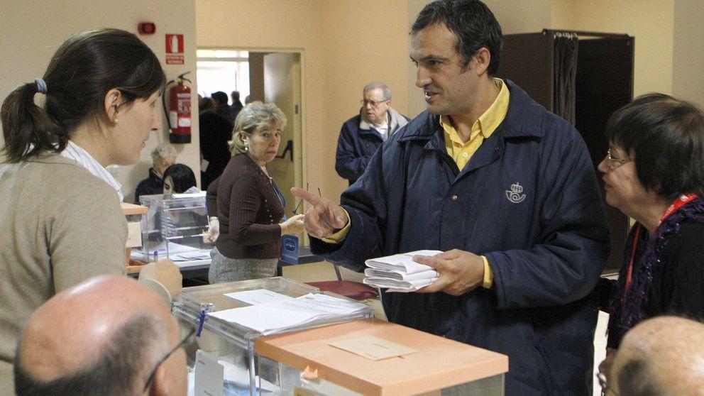 El voto emigrante baja un 80%, con el PSOE en primer lugar