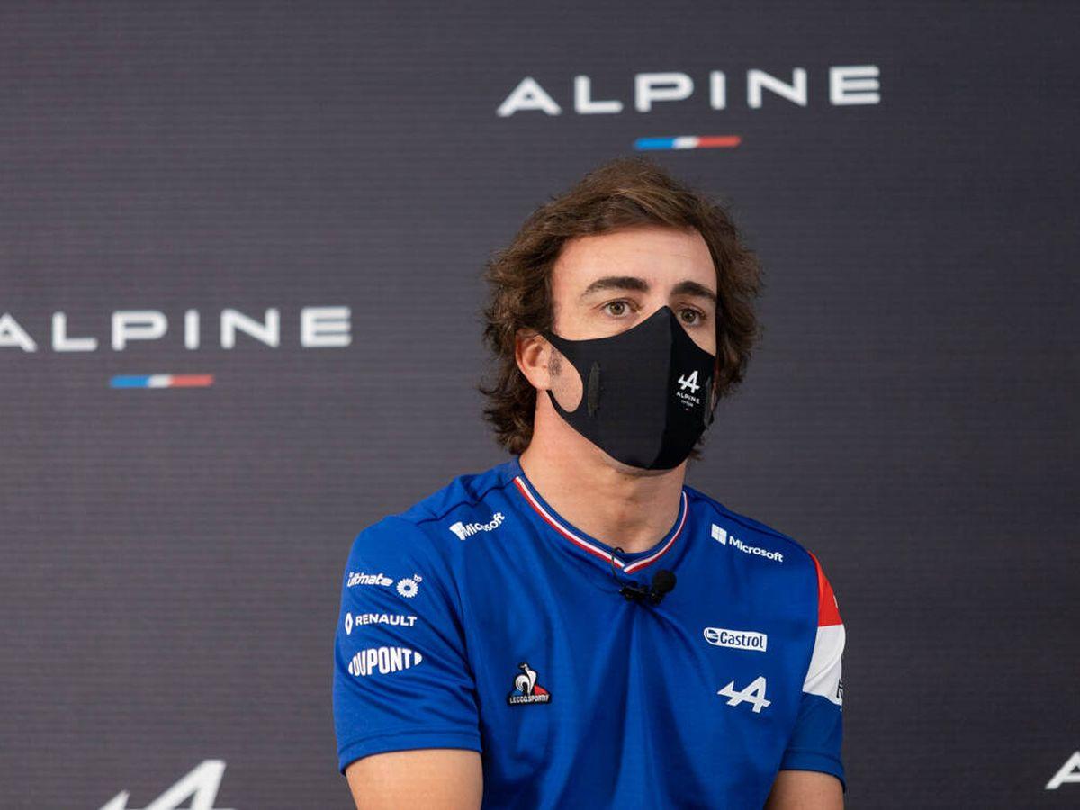 Foto: Fernando Alonso se reunió con algunos medios en Barcelona para pasar revista a su retorno a la F1