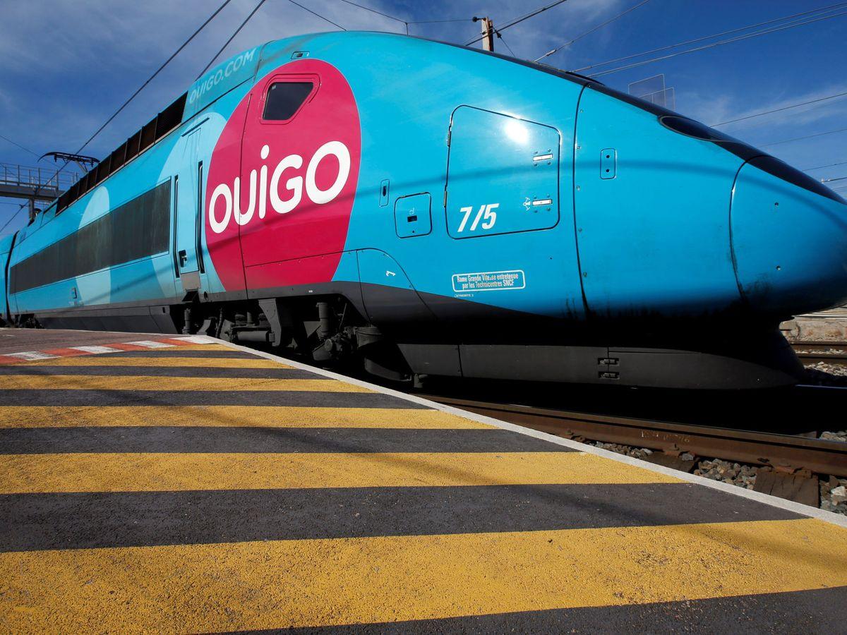 Foto: Un tren 'low cost' de la operadora francesa Ouigo (REUTERS)